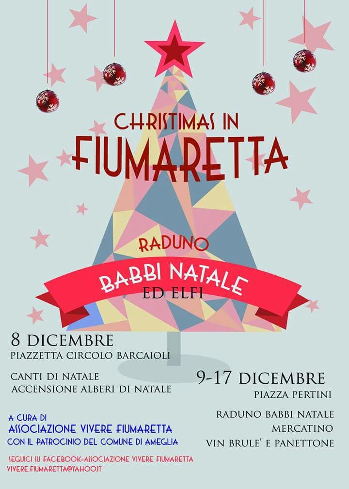 Albero Di Natale Yahoo.Ameglia Informa Christmas In Fiumarettachristmas In Fiumaretta
