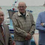 """I barcaioli del Magra testimoni dell'Aliyah Bet nel filmato """"Dalla Liguria alla Palestina"""" di Guido Torlai  ©"""